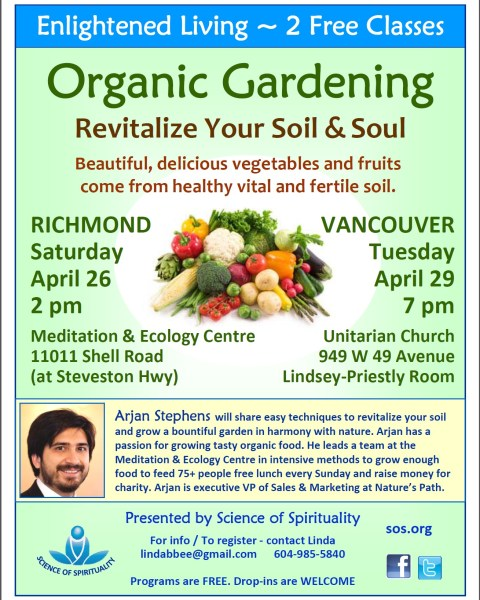 Organic Gardening Poster