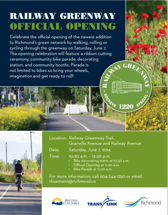 Railway Greenway Official Opening
