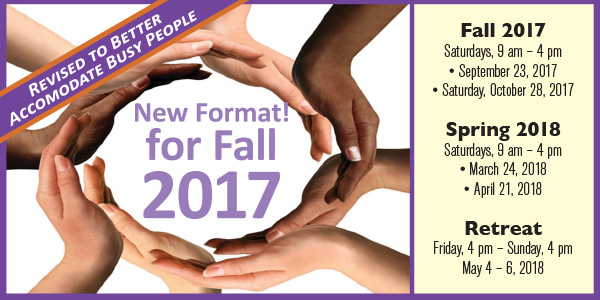 New Format for Koinonia School! 1st retreat is Saturday, September 23, 9 am-4pm