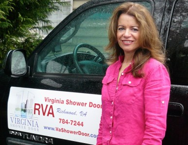 dana hedges richmond va shower door