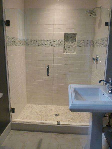 Tuchahoe Frameless Shower Enclosure Door Panel Frameless - Bathroom remodeling mechanicsville va