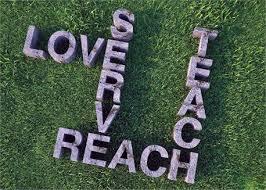 reach teach serve