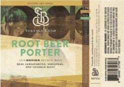 Strange Land - Root Beer Porter