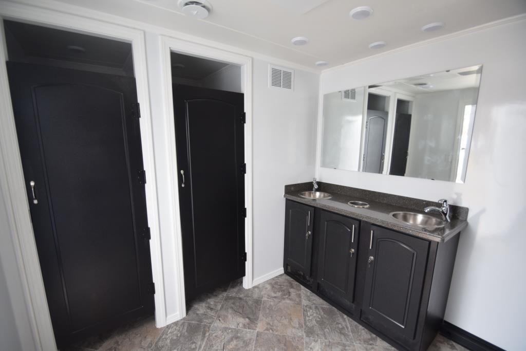 job site restroom trailer
