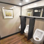 event portable restroom trailers urinals 2