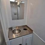 industrial portable restroom trailer vanity