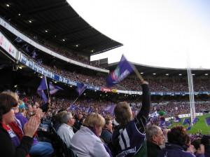 Event stadium crowd