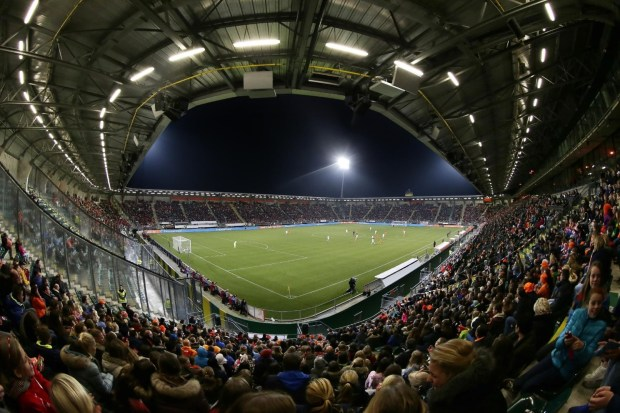 The Kyocera Stadium (Nov-14) World Cup Qualification Netherlands - Italy for a record crowd