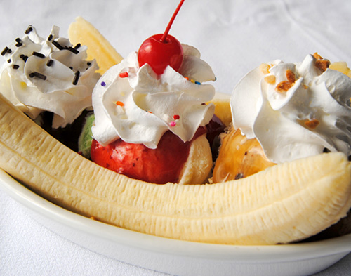 Rich's Ice Cream Banana Split Ice Cream Social