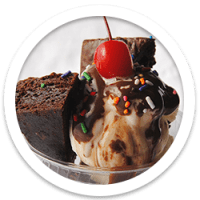 Brownie Sundae Ice Cream Social