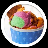 Waffle Wedge Ice Cream Social