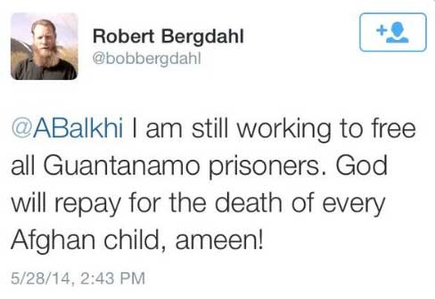 Bergdahl tweet