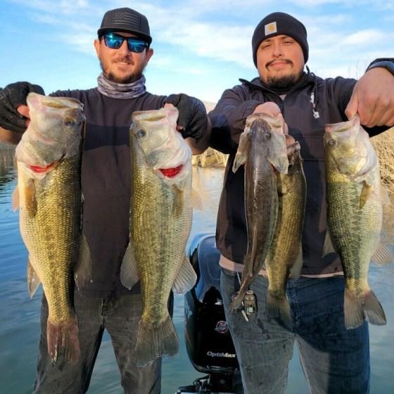 Southern California Bass Fishing Guide's Report 01/12/2021