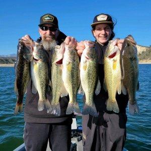 Southern California Bass Fishing Guide's Report 02/27/2021