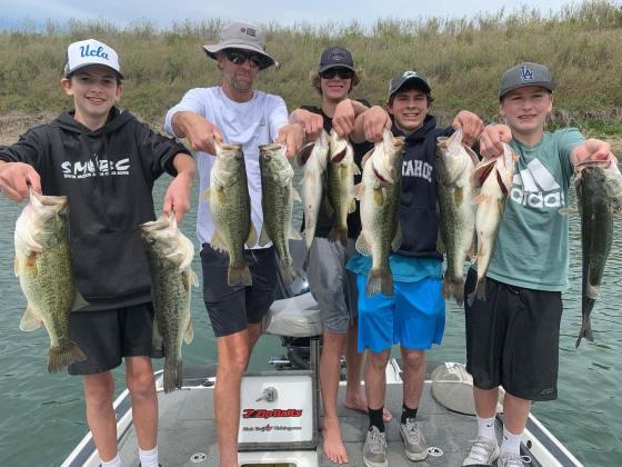 Southern California Bass Fishing Guide's Report 05/02/2021