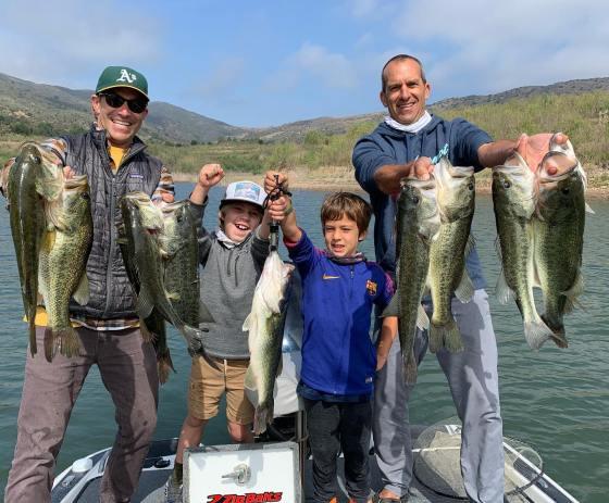 Southern California Bass Fishing Guide's Report 05/06/2021
