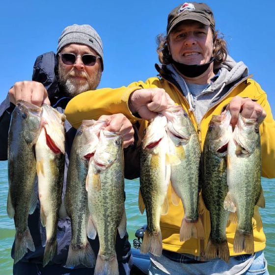 Southern California Bass Fishing Guide's Report 05/18/2021