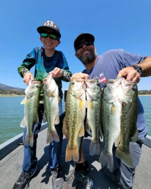 Southern California Bass Fishing Guide's Report 07/09/2021