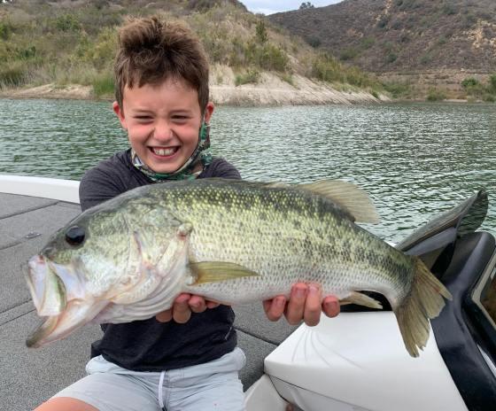 Southern California Bass Fishing Guide's Report 07/31/2021