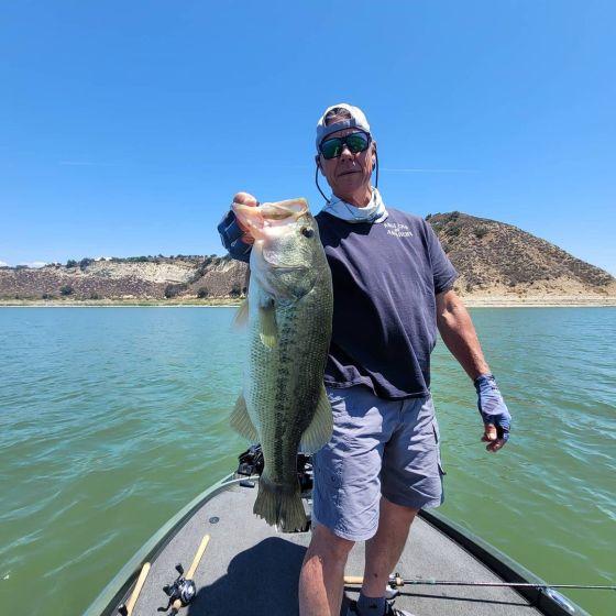 Southern California Bass Fishing Guide's Report 08/03/2021