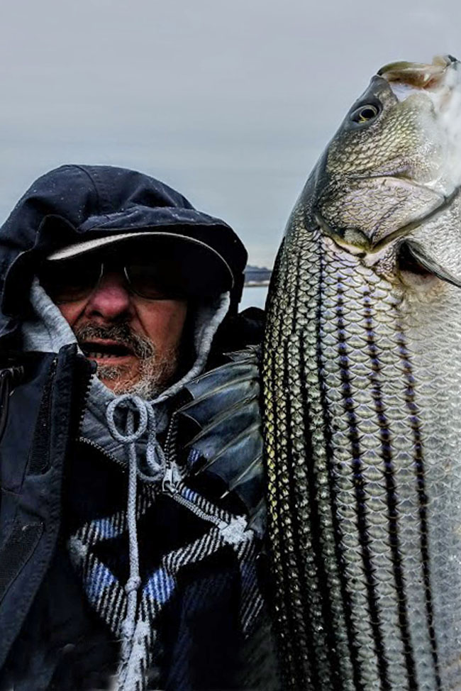 Best striper fishing day of the year so far richz 39 s for Best fishing days 2017