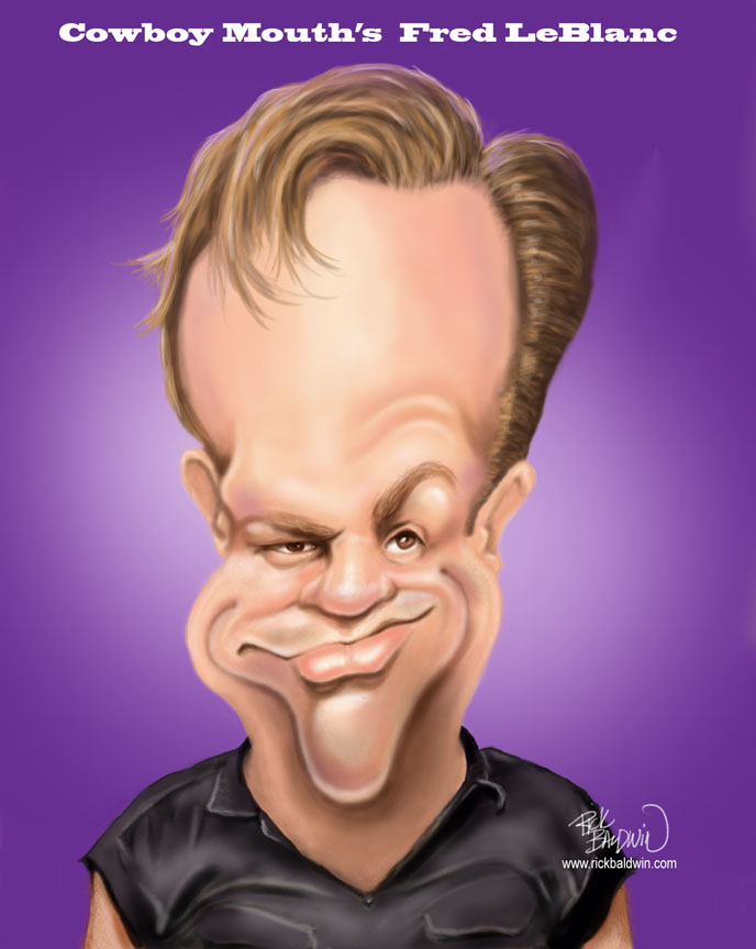 Fred LeBlanc Caricature