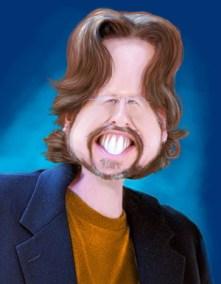 """Rick Baldwin Caricature"""