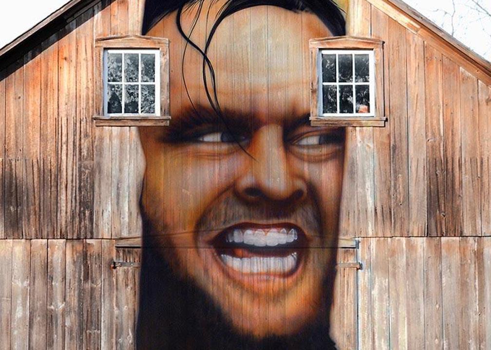 Large Mural by Atlanta Muralist Rick Baldwin
