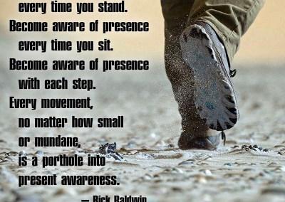 Become Aware of Presence