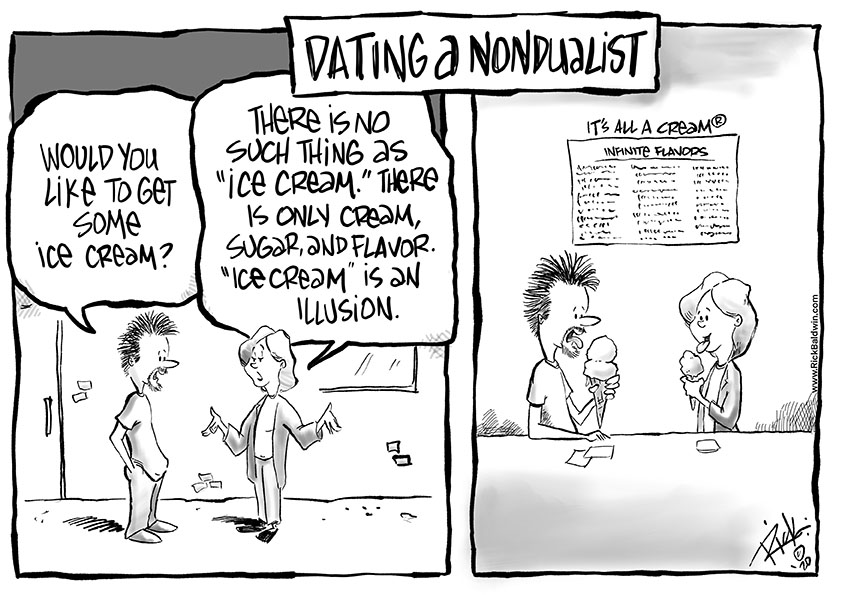 Dating A NonDualist cartoon