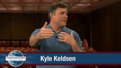 Kyle Keldsen Toastmasters