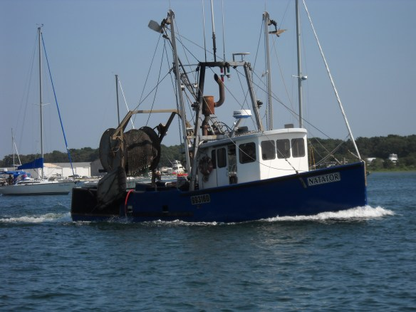 Working boat