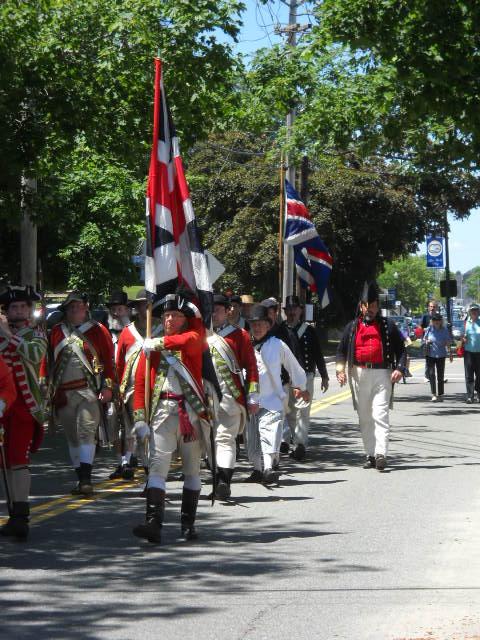 The Redcoats invade Wareham!