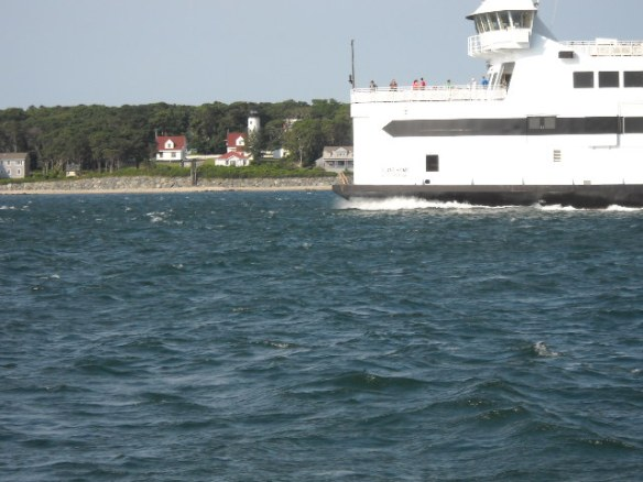 Ferry outside of Vineyard Haven.