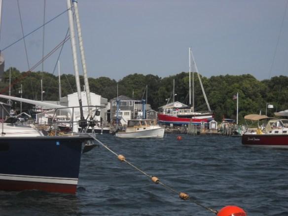 Mattapoisett Boatyard.