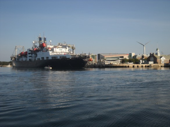 Mass. Maritime Acadamy.