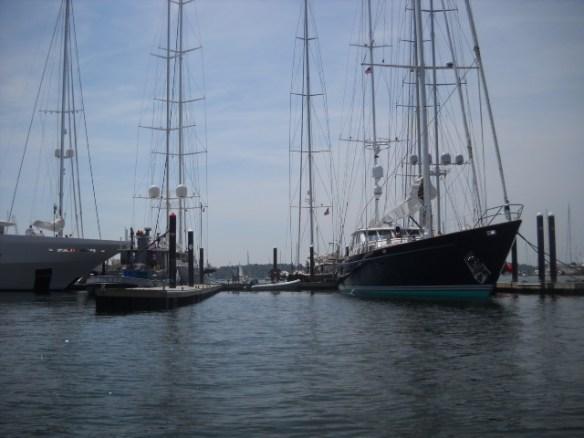 More mega-yachts.