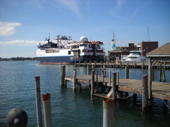 Woods Hole ferry.