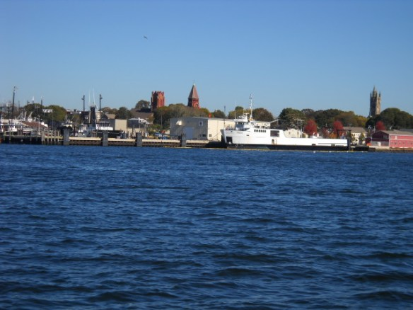 New Bedford Harbor scene.