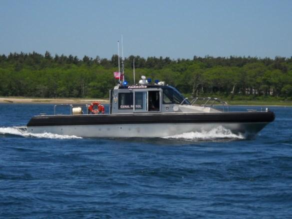 Patrol boat Parsons.