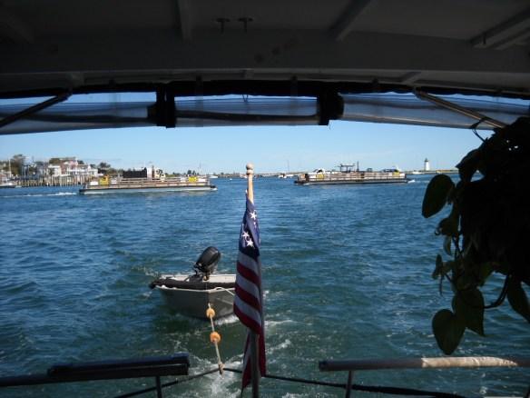 Edgartown-Chappaquidick ferrys.