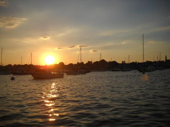 Marblehead sunset.