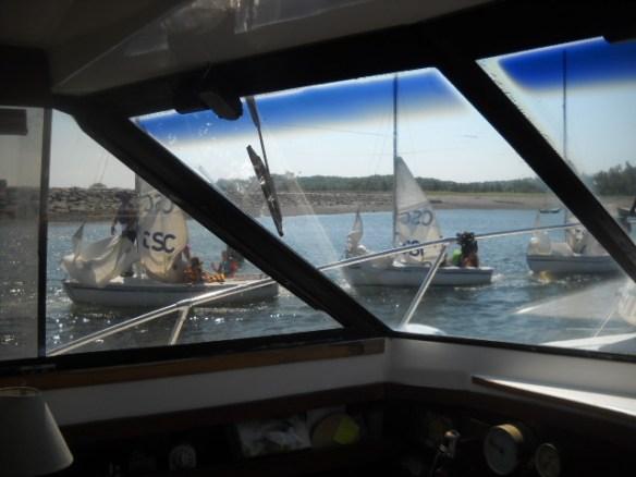 Sailing school.