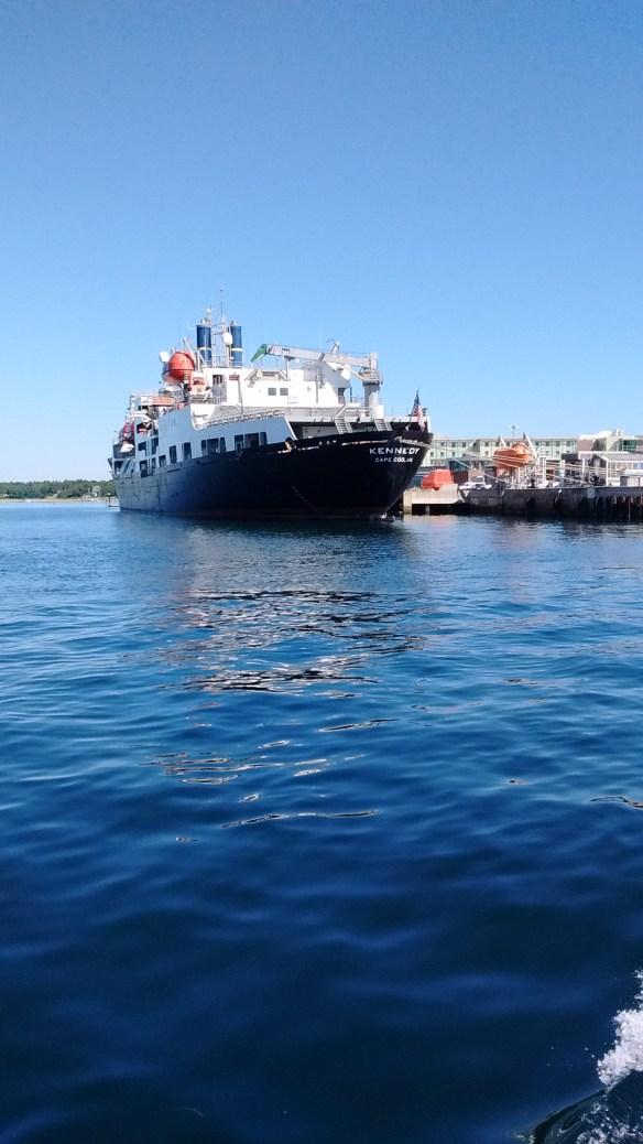 Mass Maritime's ship.