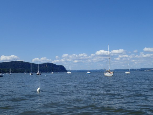 Hudson RIver at Nyack, NY, looking north