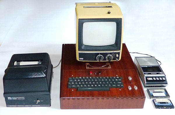 "Apple I ""system"" with all original components"