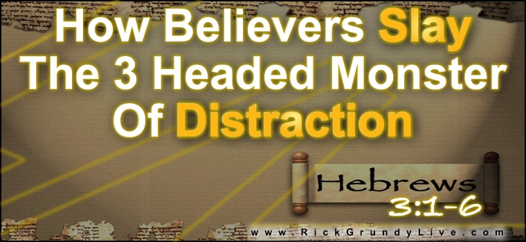 How to slay the three headed monster of distraction