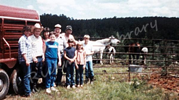 Rickman Spanish Mustangs, horses, Medicine Springs, Blackjack Mountain, Gilbert Jones, family, Mustangs, SE Oklahoma, Colonial Spanish Horse