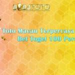 Toto Macau Terpercaya Dengan Min Bet Togel 100 Perak Resmi