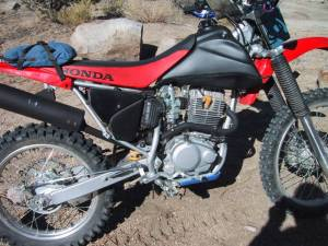 CRF230F Modifications